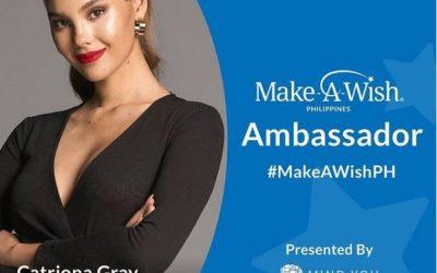 Catriona Gray is new Make-A-Wish PH ambassador
