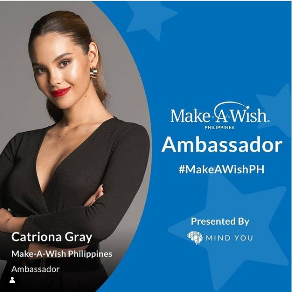 Catriona Gray is new Make-A-Wish PH ambassador