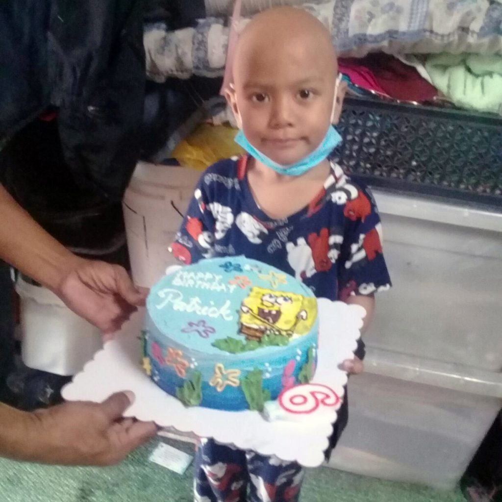 Wish kid whose birthday wish was granted by Make-A-Wish Philippines