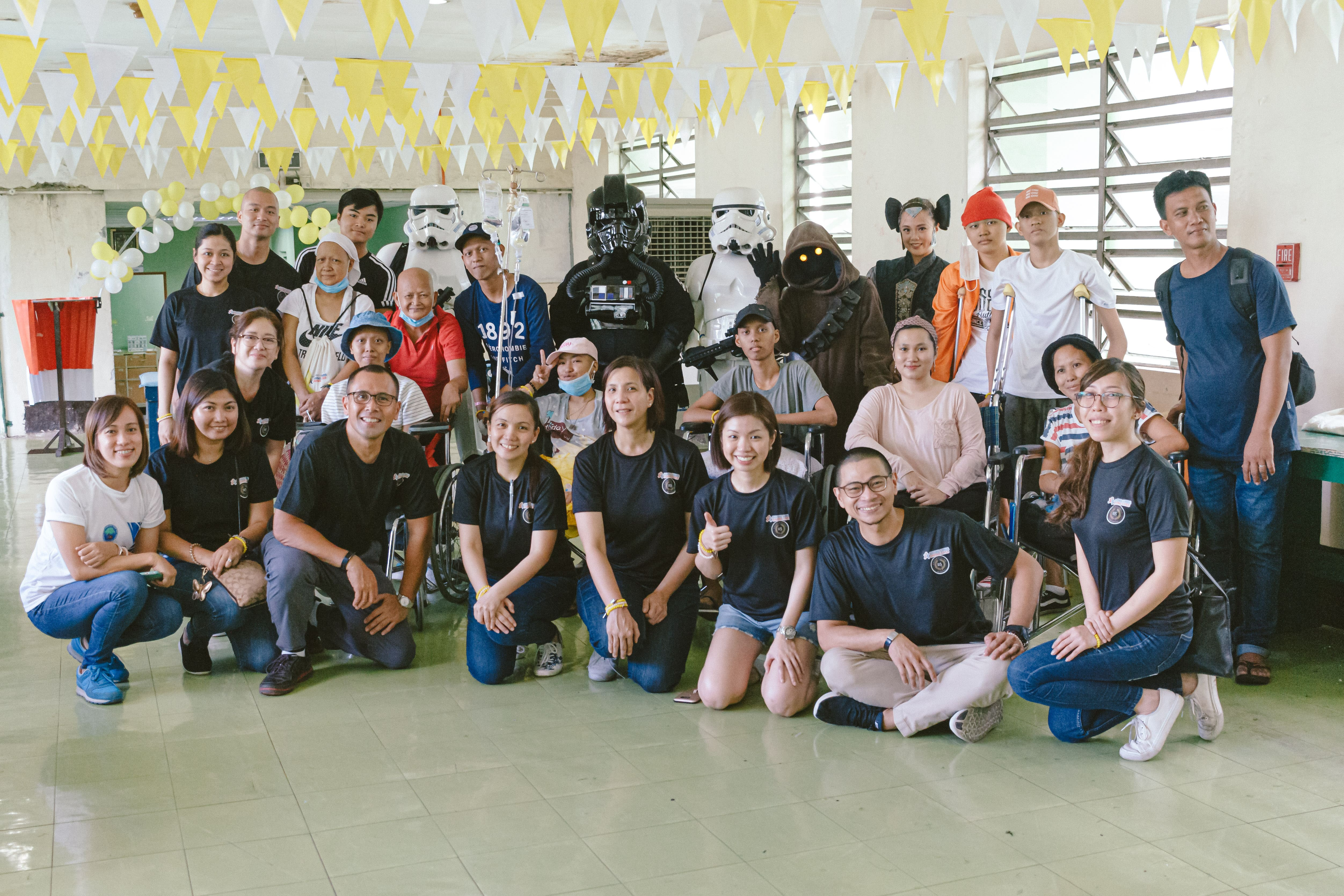 Make-A-Wish Philippines volunteers and partners including doctors and wish granters