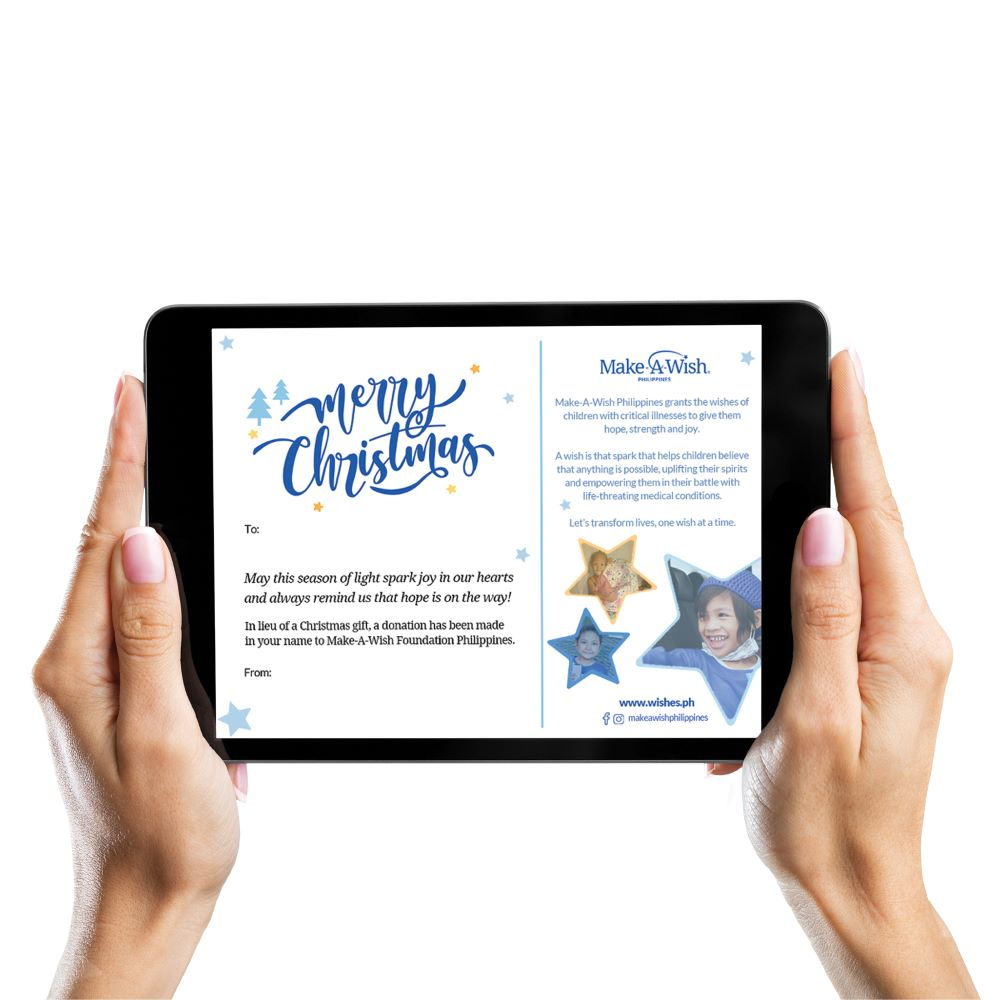 Make A Philippines Christmas Holiday E- Greeting Card